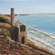 Tin mine engine house Cornwall 35-25cm