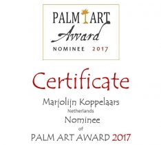 Nominatie Palm Art Award 2017
